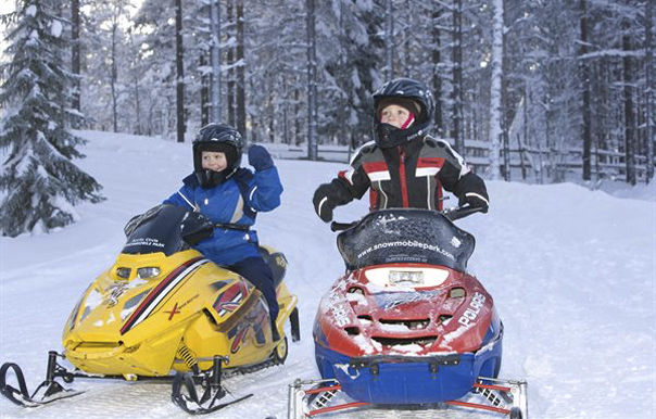 snowmobile kids
